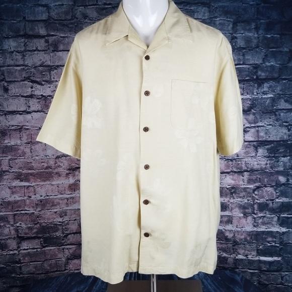 Carribbean Other - Caribbean Pure Silk Camp Shirt XXL